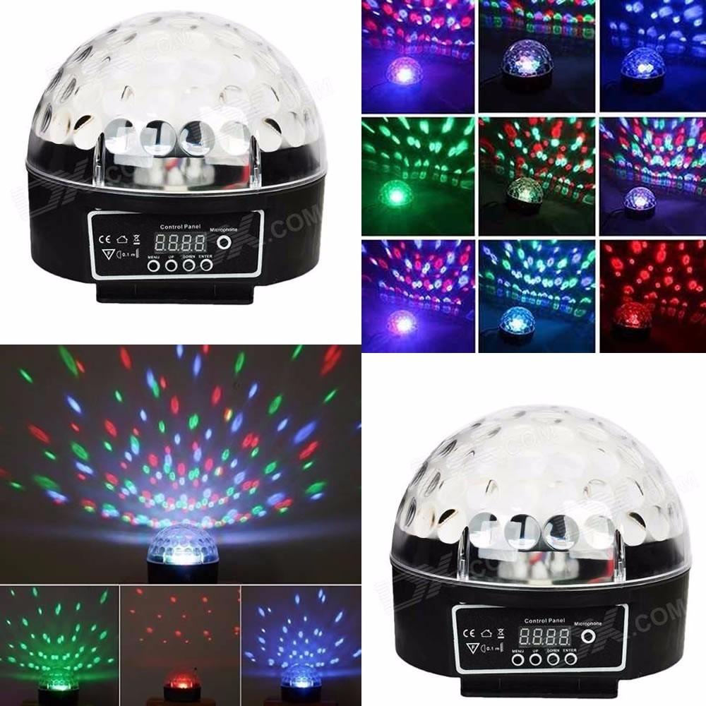 Bola parlante de luces de colores a0129 dirtsac - Bola de discoteca de colores ...