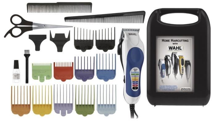 Equipo para cortar el cabello con sistema de codificación con colores de 20  piezas. Cuenta con una cortadora para cortes múltiples con control de largo  ... 6263e7d3d5db